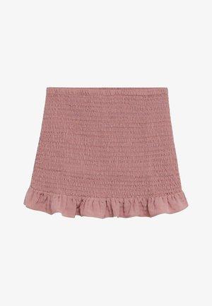 JULIETA - Áčková sukně - viola chiaro/pastello