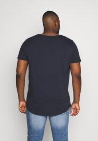 Lee - SHAPED TEE - T-shirt basique - sky captain - 2
