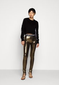 Just Cavalli - Leggings - Trousers - gold - 1