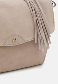 Anna Field - LEATHER - Across body bag - taupe - 3