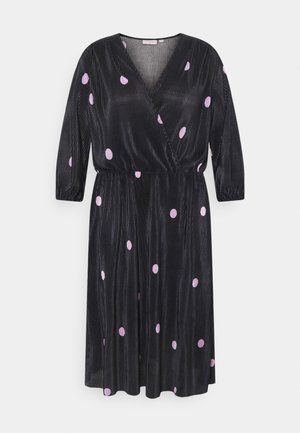 CARLENA BALOON DRESS - Vapaa-ajan mekko - black