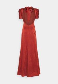 Temperley London - ANITA GOWN - Occasion wear - dark amber - 8