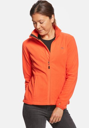 ANNE - Fleecejacke - orange