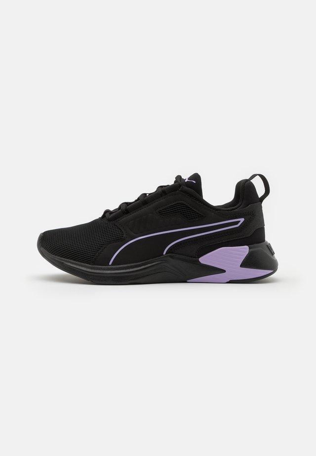 DISPERSE XT - Sportovní boty - black/light lavender