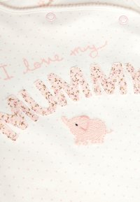 Next - PINK/WHITE 2 PACK MUMMY AND DADDY ELEPHANT SLEEPSUITS (0MTHS-2YR - Pyjamas - pink - 4