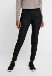 Mos Mosh - BLAKE NIGHT PANT SUSTAINABLE - Trousers - black - 0