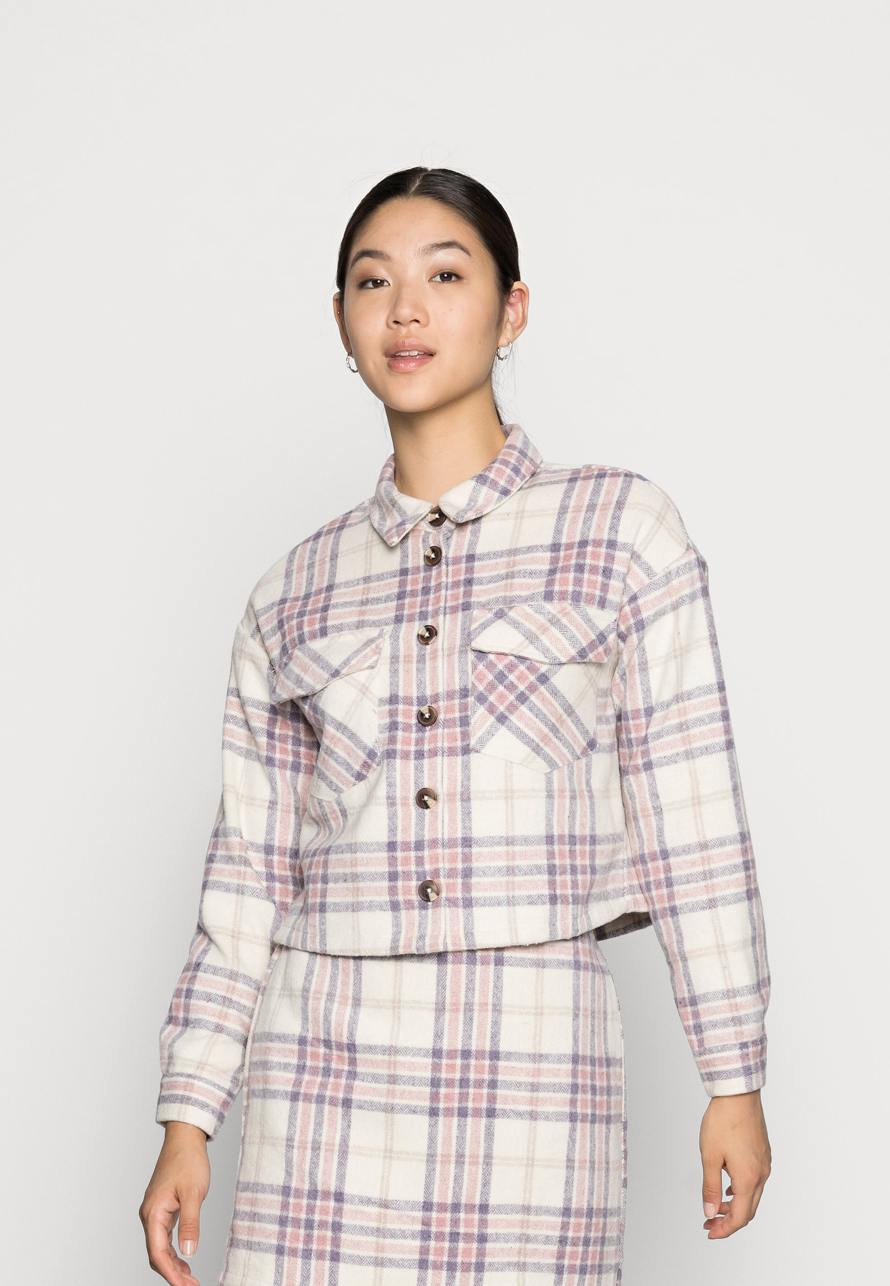 Donna VMSHAY CROPPED SHIRT - Camicia