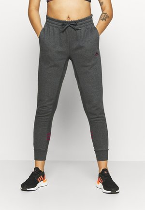 Pantalon de survêtement - mottled dark grey