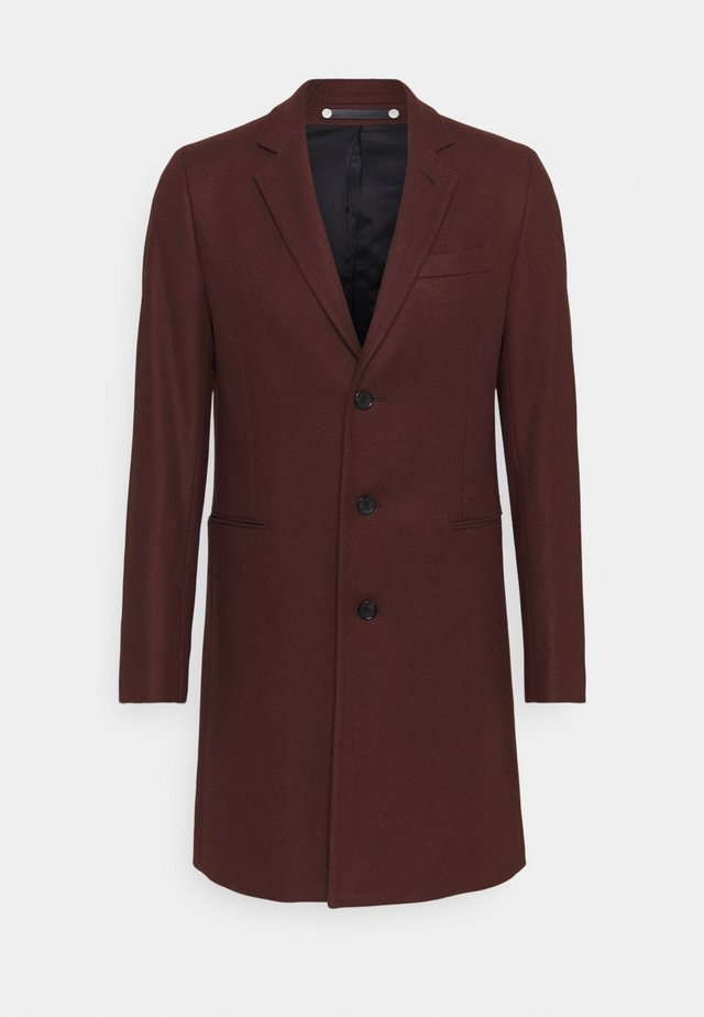 MENS OVERCOAT - Wollmantel/klassischer Mantel - brown