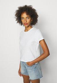 Agolde - LINDA BOXY TEE - Basic T-shirt - tissue off white - 4