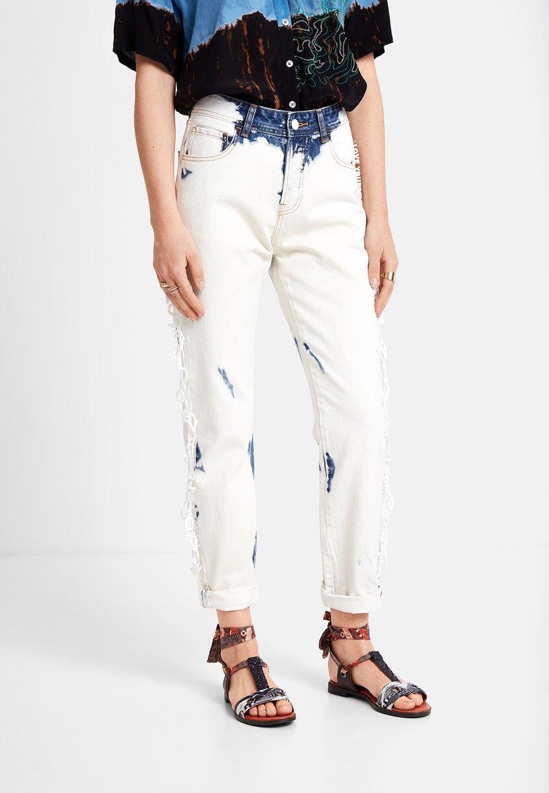 Desigual - BLEACH LONG - Jean droit - blue