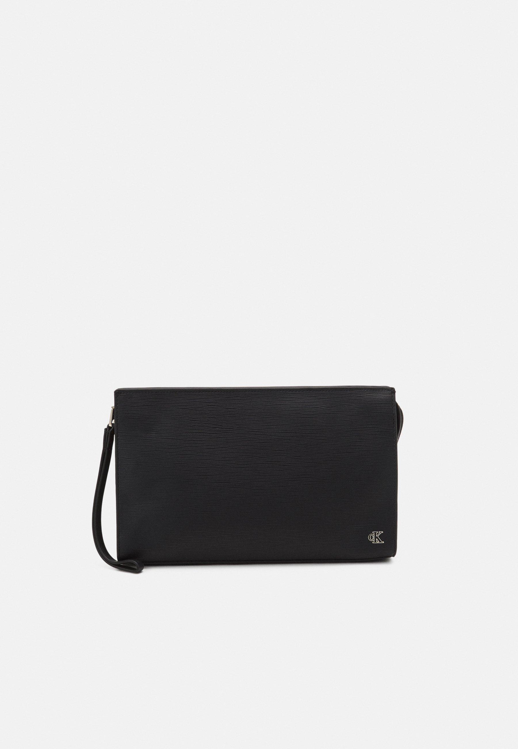 Men ENAMEL PLAQUE UTILITY POUCH - Handbag