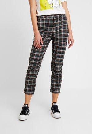 HI RISE TROUSER - Spodnie materiałowe - teal