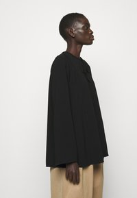 Theory - FLUID BLOUSE ADMIRAL - Blouse - black - 3