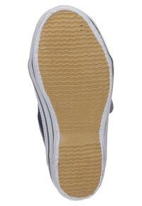 Capt'n Sharky - ANTON - Touch-strap shoes - blau/grau - 4