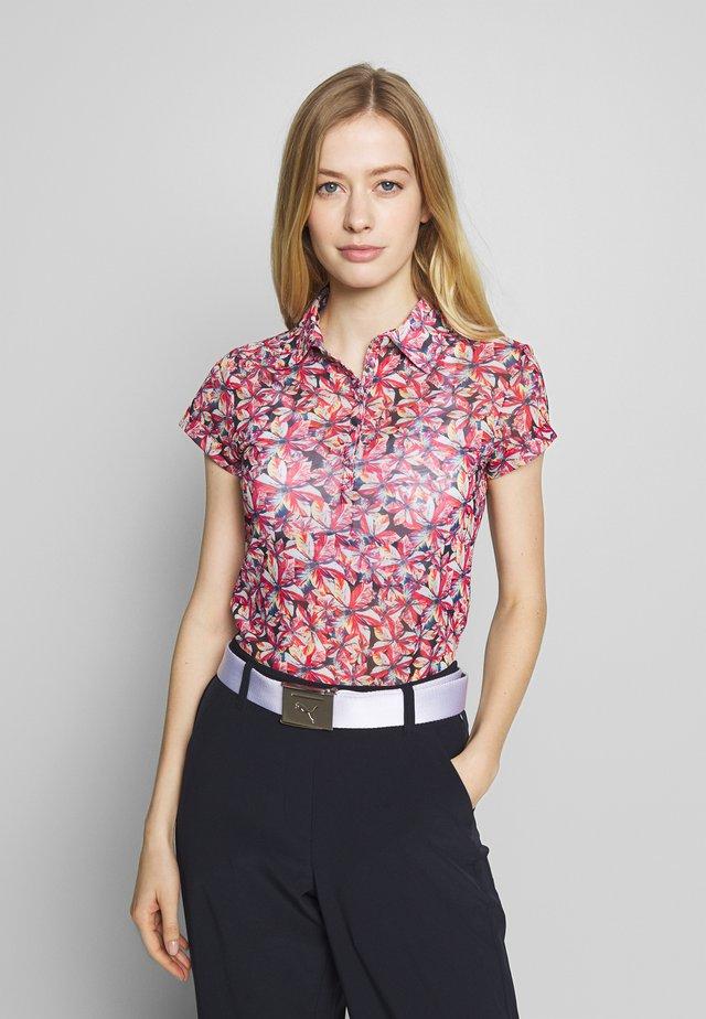 KACIE CAP SHIRT - Poloshirts - black