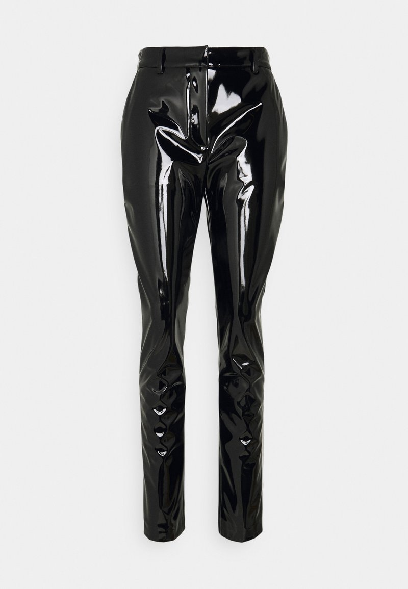 Victoria Beckham - HIGH WAIST SLIM TROUSER - Trousers - black