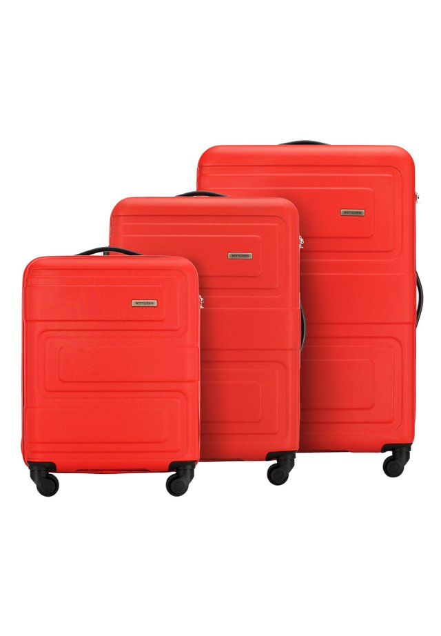 SET - Luggage set - rot