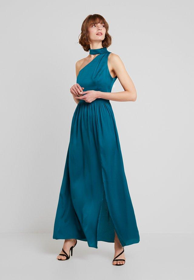 ANJA ASYMMETRIC HALTER DRESS - Abito da sera - kingfisher