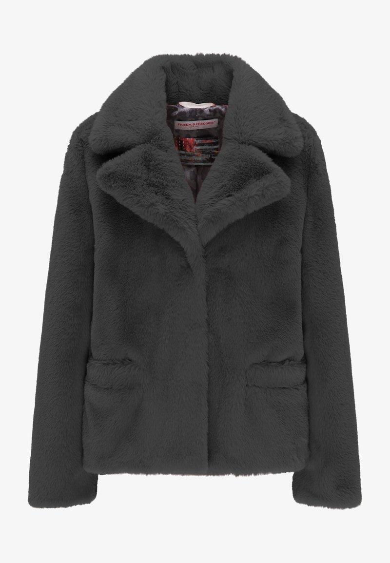Frieda & Freddies - Zimní kabát - black