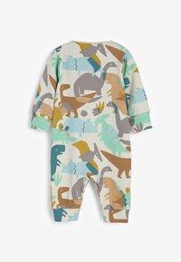 Next - 3 PACK  - Pyjamas - blue/brown/white - 2
