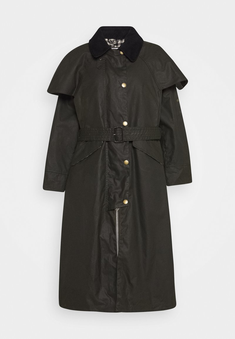 Barbour International - ALEXA CHUNGTRUDIE - Trenchcoat - fern/northumberland