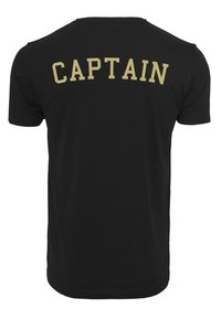 Mister Tee - CAPTAIN  - T-shirt med print - black - 1