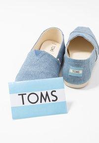 TOMS - VEGAN ALPARGATA - Slip-ons - blue - 7