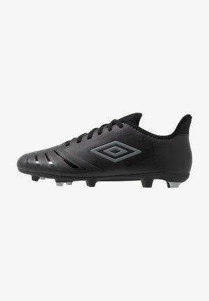UX ACCURO III CLUB FG - Scarpe da calcetto con tacchetti - black/carbon