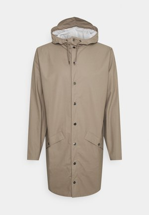 LONG JACKET UNISEX - Waterproof jacket - taupe