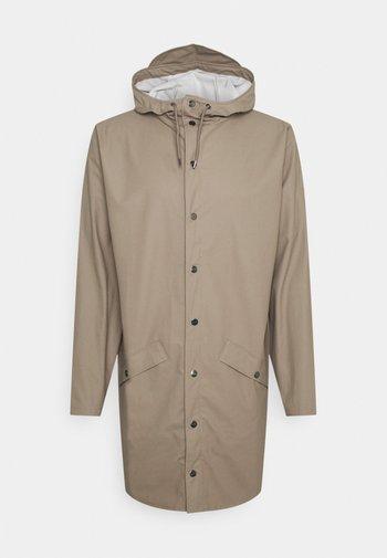 LONG JACKET UNISEX - Waterproof jacket - taupe