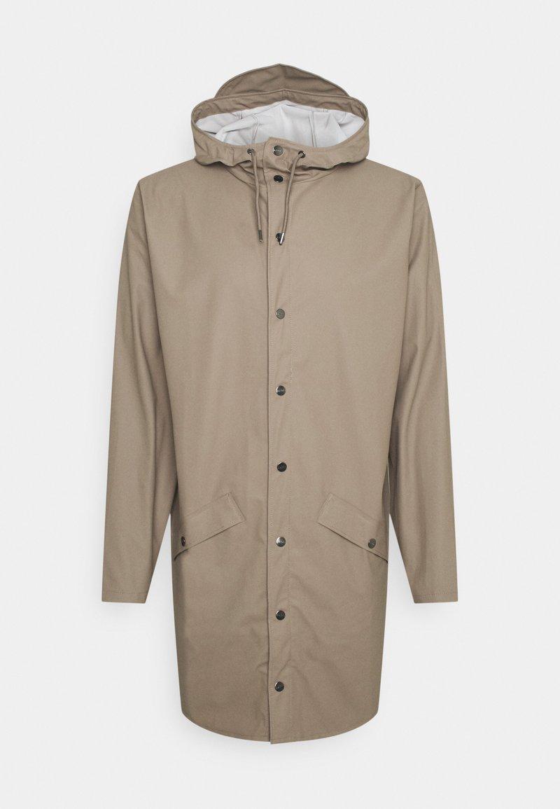 Rains - LONG JACKET UNISEX - Waterproof jacket - taupe