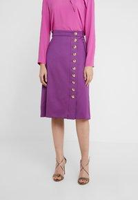 Escada - REAA - Áčková sukně - violetta - 0