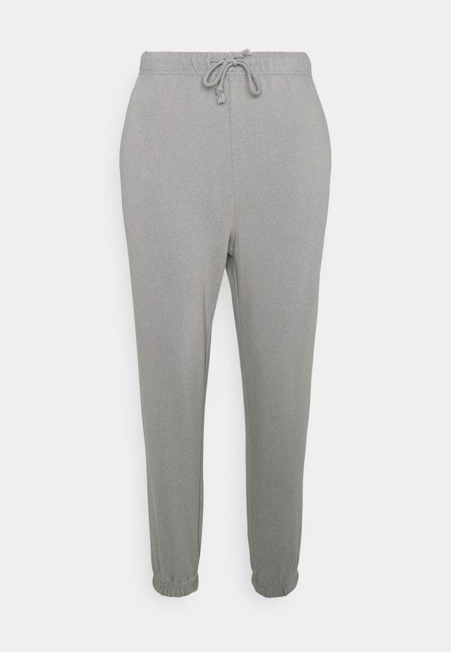 PCCHILLI PANTS - Trainingsbroek - light grey melange