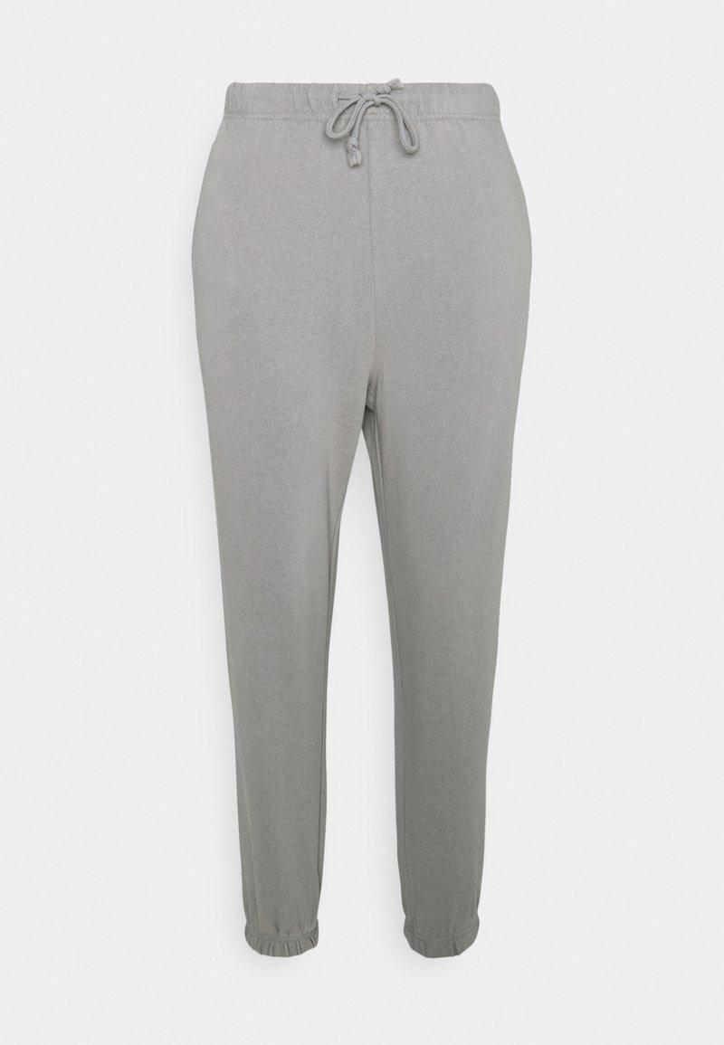 Pieces Petite - PCCHILLI PANTS - Tracksuit bottoms - light grey melange
