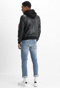 Alpha Industries - Leather jacket - black - 2
