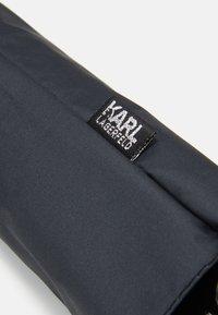 KARL LAGERFELD - IKONIK UMBRELLA - Umbrella - black - 3