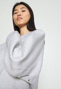 American Vintage - BEATOWN - Sweatshirt - gris clair chine - 3