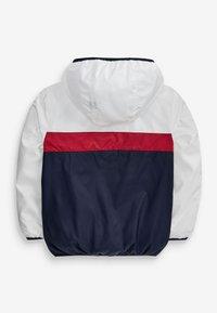 Next - Waterproof jacket - White, Red, Blue - 2