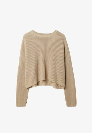 OVERSIZE - Pullover - stone