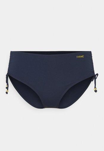 PANTS GATHERED - Bikini bottoms - navy