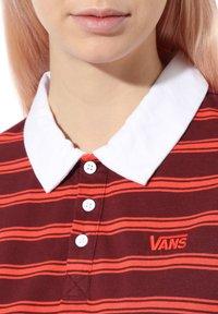 Vans - WM STRIPE POLO DRESS - Jersey dress - port royale - 1