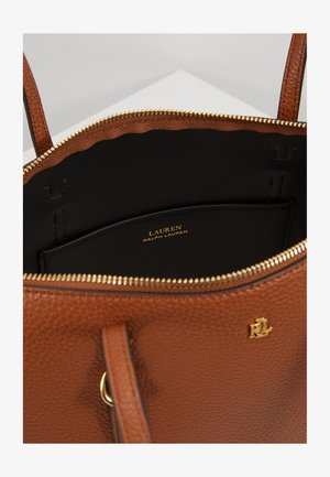 PEBBLE GRAIN KEATON - Handbag - lauren tan