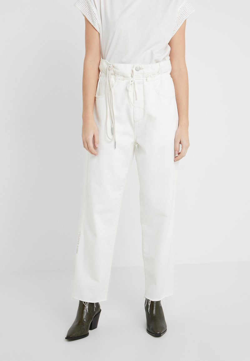 CLOSED - LEXI - Jeansy Relaxed Fit - creme