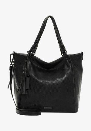 TALLY - Tote bag - black