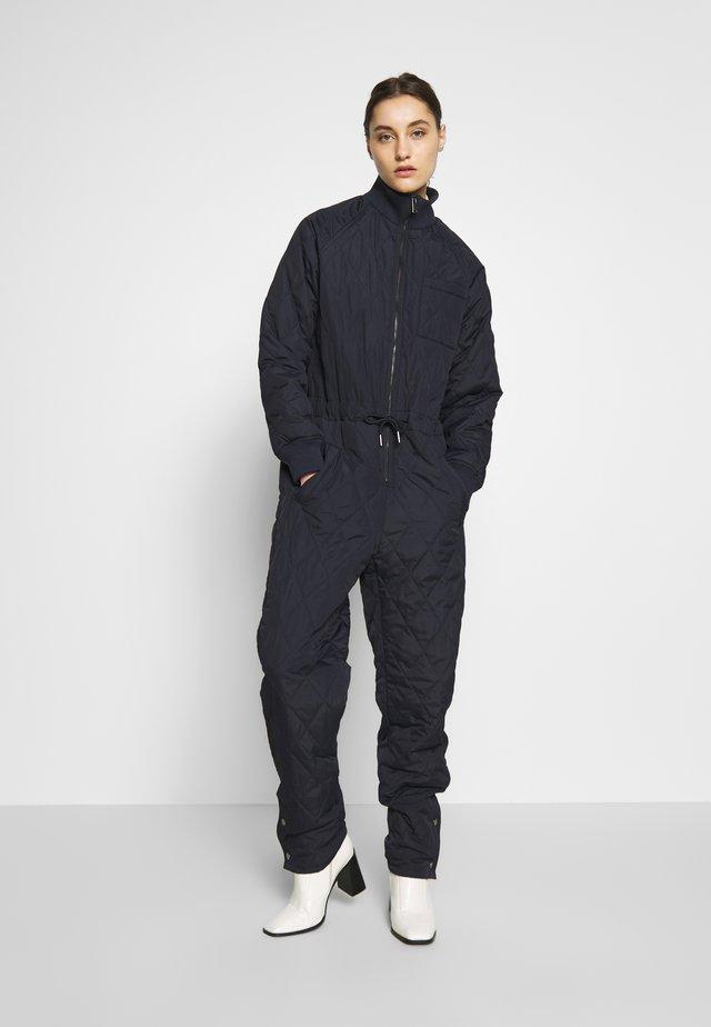 EKTRAI QUILT JUMPSUIT - Jumpsuit - marine blue
