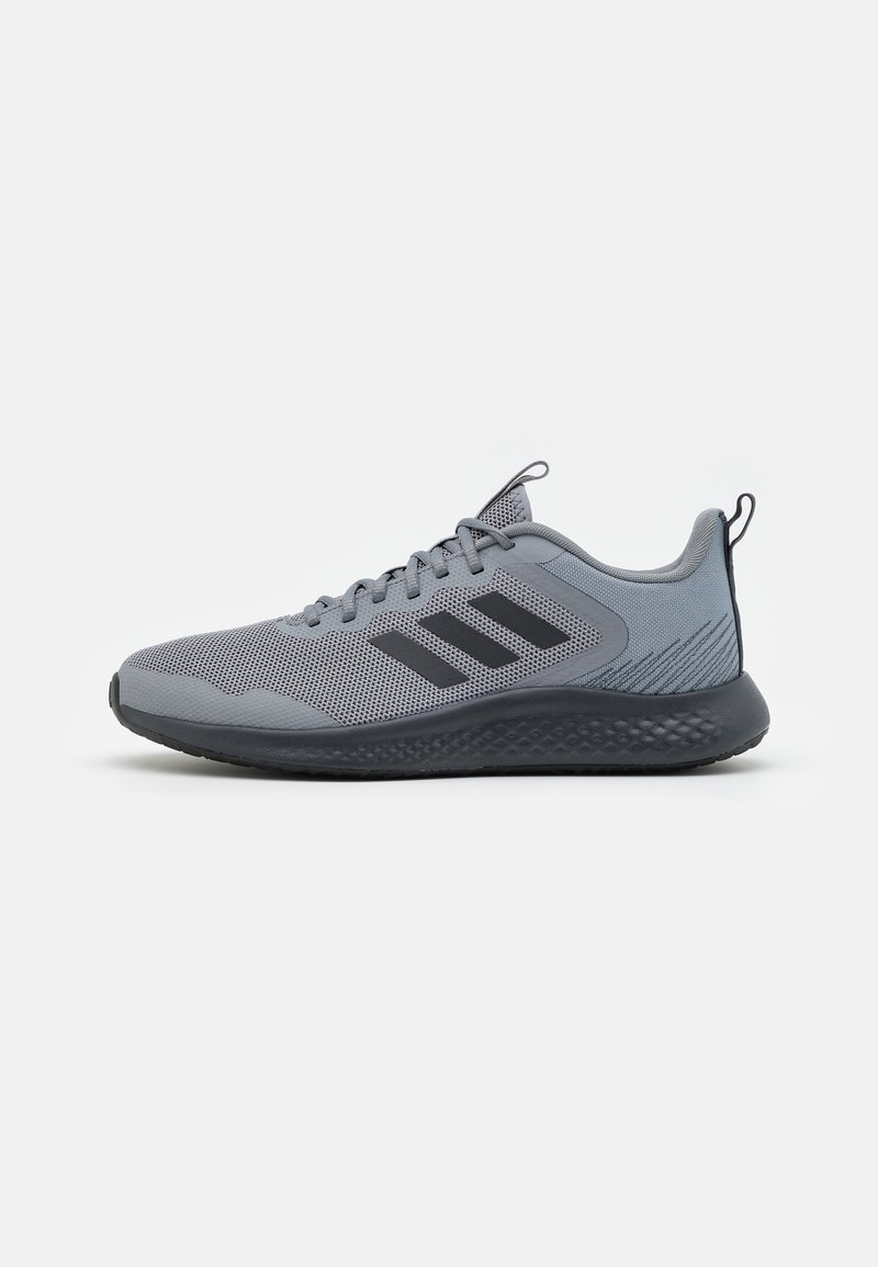 adidas Performance - FLUIDSTREET - Sports shoes - grey/carbon/core black