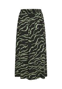 Kaffe - Maxi skirt - black  hedge zebra print - 5