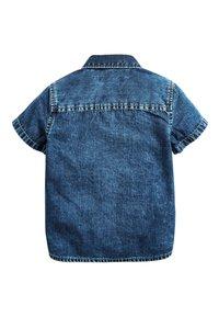 Next - BLUE SHORT SLEEVE DENIM SHIRT (3MTHS-7YRS) - Camisa - blue - 1