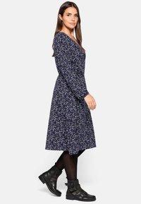 Sheego - Jersey dress - lila bedruckt - 3
